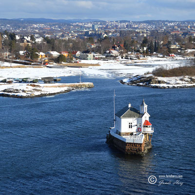 Norwegen, Hauptstadt Oslo, Hafeneinfahrt