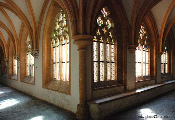 Österreich, Steiermark, Oberes Mürztal, Neuberg a.d.Mürz mit ehem. Zisterzienser Kloster, Kreuzgang