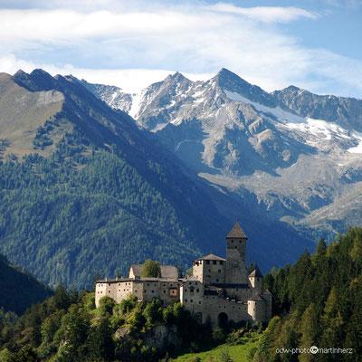 Italien, Südtirol, Burg/Schloss Taufers in Sand in Taufers, Pustertal