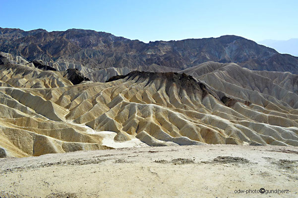 USA, Kalifornien, Death Valley,    Zabriskie Point