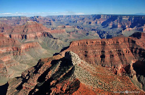 USA, Arizona, Grand Canyon, Luftaufnahme