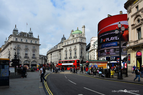 England / Great Britain / London / Piccadilly circus