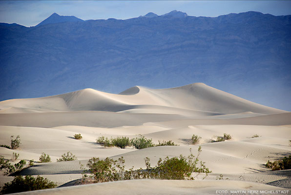 USA, Kalifornien, Death Valley,  Mesquite Flat Sand Dunes