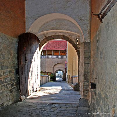 Österreich, Südoststeiermark, Burganlage Riegersburg über der Ortschaft Riegersburg