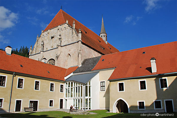 Österreich, Steiermark, Oberes Mürztal, Neuberg a.d.Mürz mit ehem. Zisterzienser Kloster