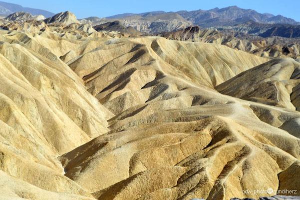 USA, Kalifornien, Death Valley,    Zabriskie Point