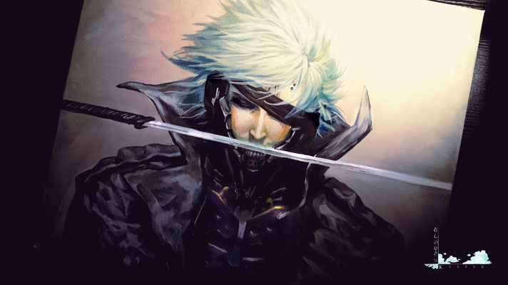 Metal Gear Solid - Raiden  (Copy Painting)