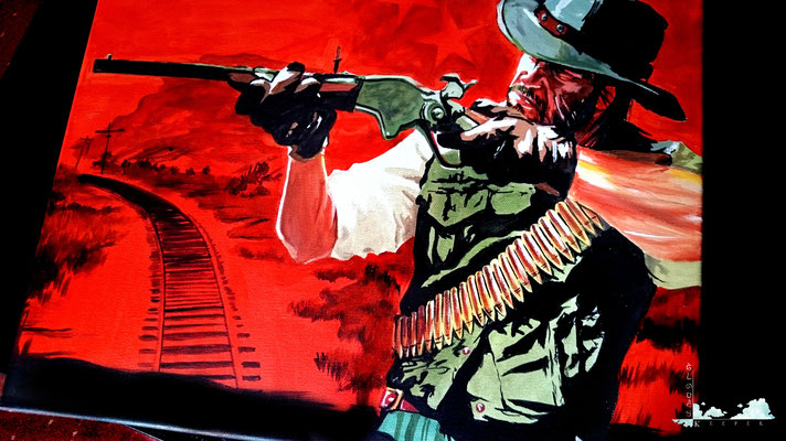 Red Dead Redemption (Copy Painting)