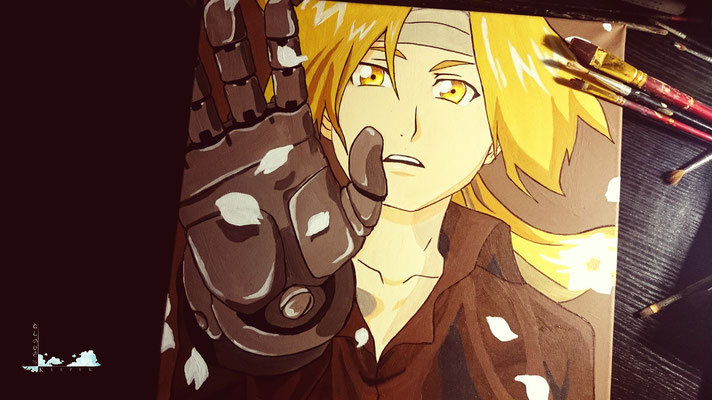 Fullmetal Alchemist Brotherhood (Copy Painting)