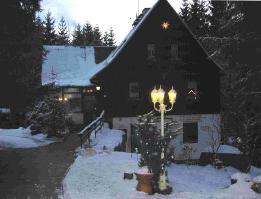 Weihnachten - Jahreswechsel 2008, Waldbärenburg. Foto: ©Klaus Schönfuß