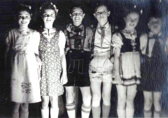 """Weihnachtsspiel 1949 """"Das goldene Lachen"""""""