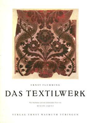 """Titel Schutzumschlag """"Das Textilwerk"""" von Ernst Flemming / Renate Jaques. Abb.-Quelle (2)"""