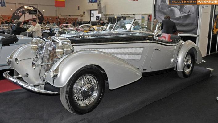 Horch 855 Spezial-Roadster Gläser 1938. Foto www.traumautoarchiv.de