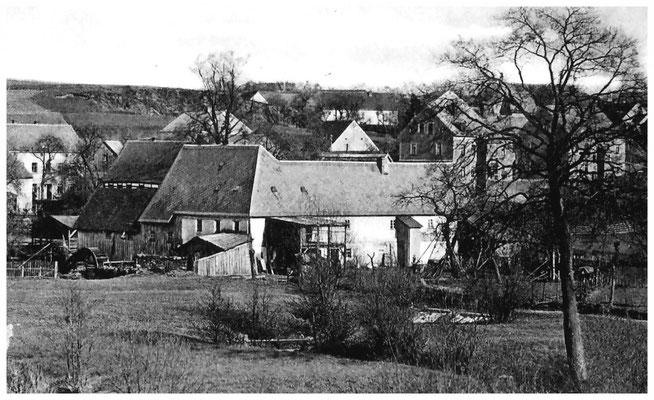 Rasenmühle Lotzdorf um 1910