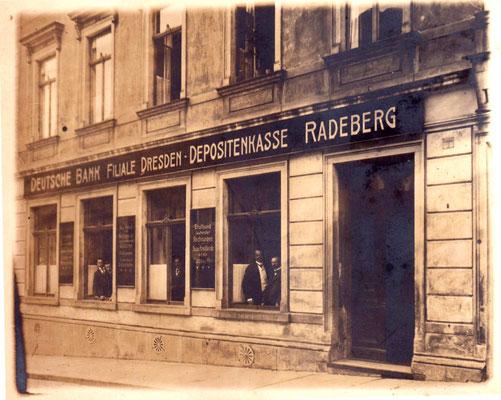 Kirchstraße 1 - im Verbund mit dem Eckhaus Hauptstraße 16 waren darin die ersten Weinkeller.