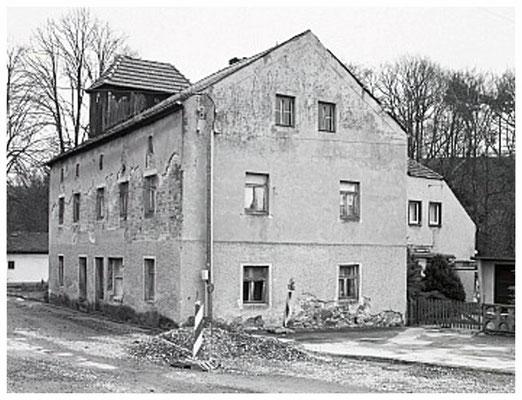 Dorfmühle Liegau-Augustusbad, um 1990 - 2
