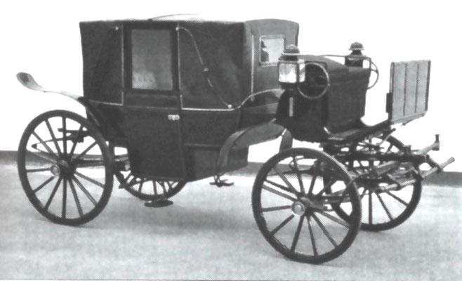 Kutsche aus der Wagenfabrik Emil Heuer Radeberg