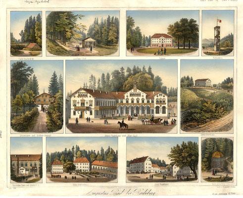 Augustusbad, Bilderkarte