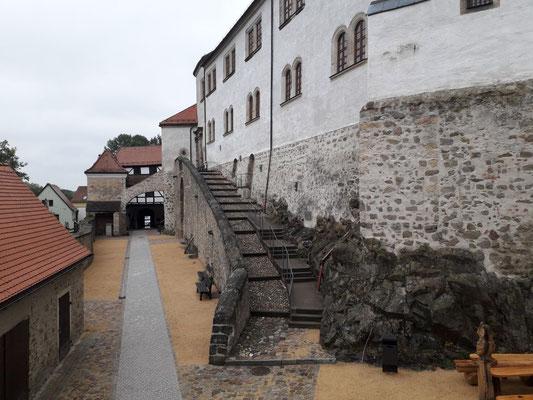 Ende 2018: Der Untere Schlosshof ist fertig