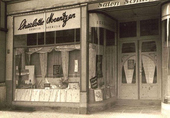 Charlotte Meentzen, Salon Weißer Hirsch 1960 - 2