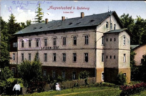 Augustusbad, Luisenhof auf dem Silberberg