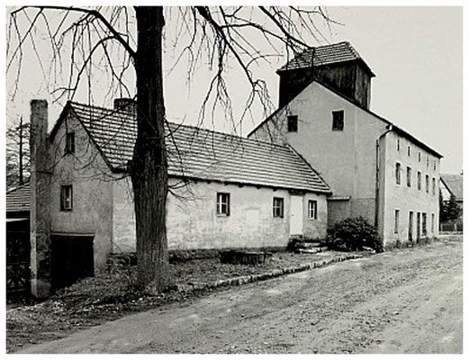 Dorfmühle Liegau-Augustusbad, um 1990