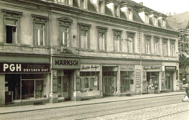 Charlotte Meentzen, Salon Weißer Hirsch 1960 - 1