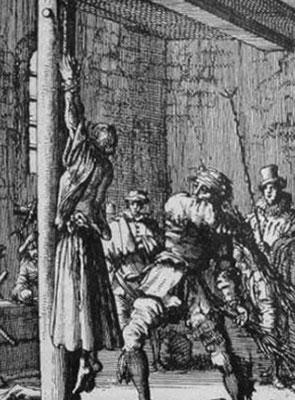 """Bestrafung einer """"Sünderin"""""""