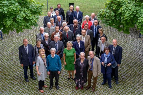 Ehrenamt Museumswesen 2020 Sachsen 28.9.2020. Gruppenfoto der sächsischen Preisträger mit Partnern. 4. ©Michael Schmidt
