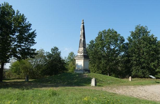 Obelisk 4 bei Zeithain, Gesamtanlage