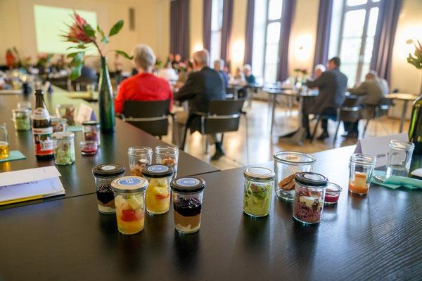Ehrenamt Museumswesen 2020 Sachsen 28.9.2020.  Catering unter Corona-Bedingungen. 3. ©Michael Schmidt