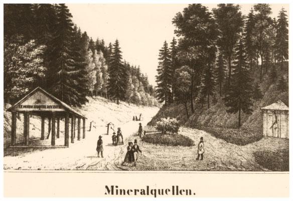 Radeberger Bad, Tannengrund, Quellen sind gefasst