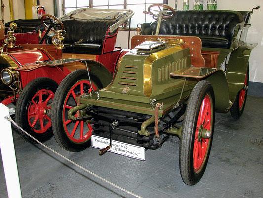 Opel Darracq 1903, Quelle: Wikimedia, Richo2000. Lizenz 4.0