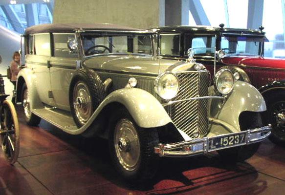 """Mercedes-Benz 770 """"Großer Mercedes"""" für den ehem. deutschen Kaiser Wilhelm II."""