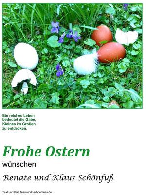 Ostern 2019. Foto: ©Renate Schönfuß-Krause