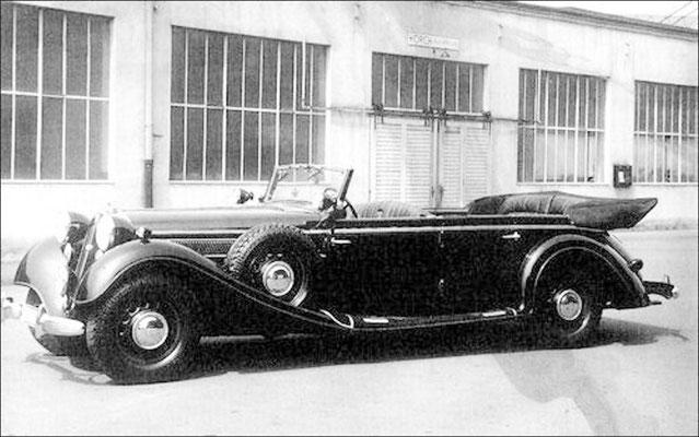Horch 850 Phaeton mit Gläser-Karosserie 1.  (Auto-Union)