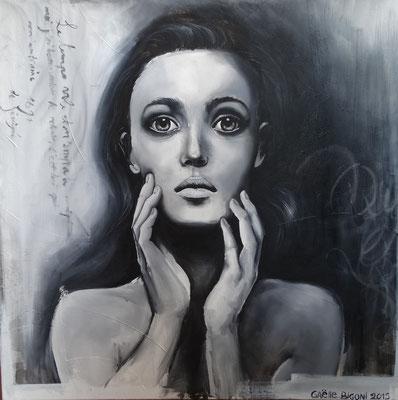 Peinture à l'huile sur toile. 20 x 20 po - 50,8 x 50,8 cm - 2013