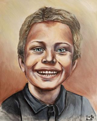Peinture à l'huile sur toile d'après photo. 16 x 20 po - 40,64 x 50,8 cm - 2020