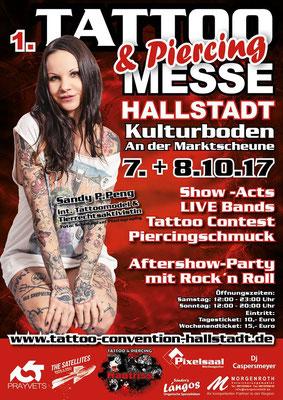 Plakat Tattoo Convention Hallstadt  | Sandy P. Peng