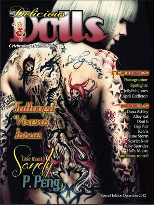 Cover Tattoo Magazin Texas | Sandy P. Peng