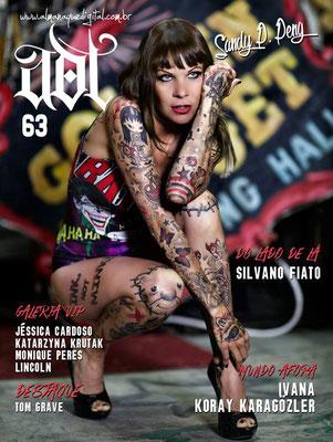 Cover Tattoo Magazin Brasilien  | Sandy P.Peng