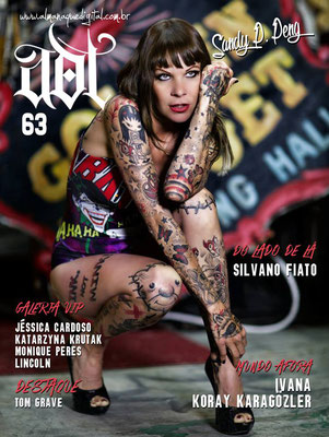Cover Tattoo Magazin Brasilien  | Sandy P.Peng