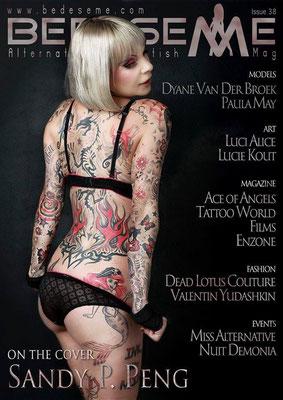 Cover Tattoo Magazin Spanien | Sandy P.Peng