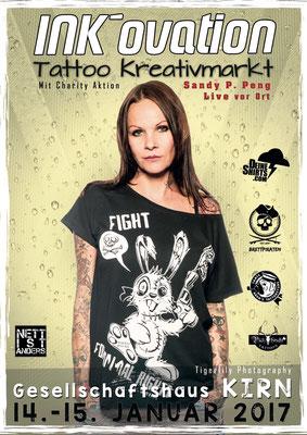 Eventplakat Tattoo Convention Kirn |Deutschland  | Sandy P. Peng