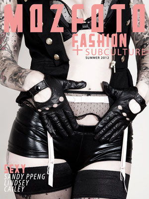 Cover MOZFOTO Magazin NYC |Sandy P. Peng