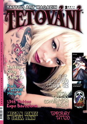 Cover Tattoo Magazin Tschechei  | Sandy P.Peng