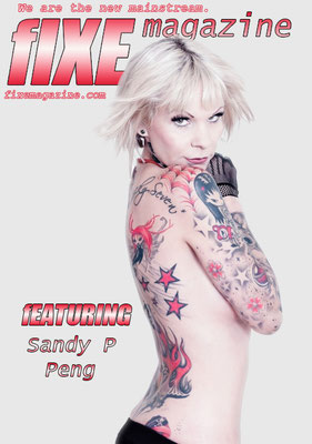 Cover Tattoo Magazin NY  | Sandy P.Peng