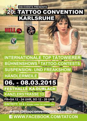Eventplakat Tattoo Convention |Sandy P.Peng