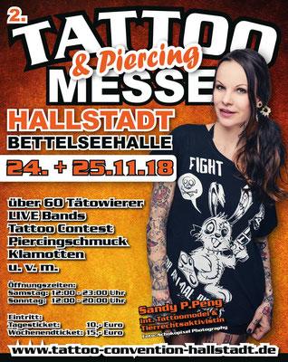 Eventplakat Tattoo Convention Deutschland |Sandy P.Peng