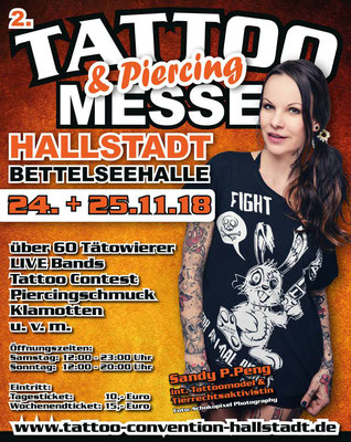 Eventplakat Tattoo Convention Deutschland | Sandy P.Peng